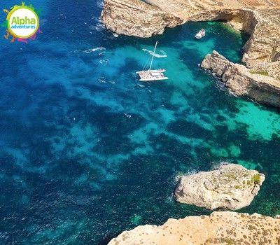 Comino Aerial view