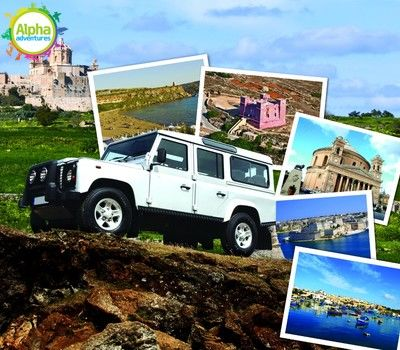 Malta Luxury Jeep Safari
