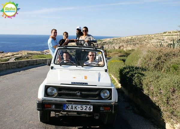 4x4 jeep safari in Gozo