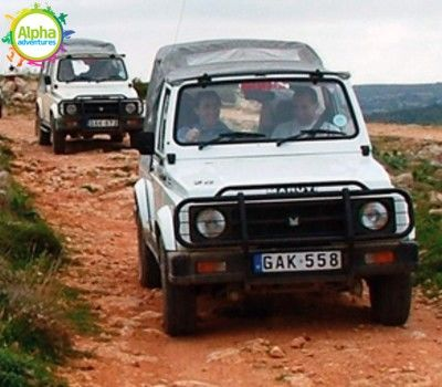 4x4 jeep safari in Malta