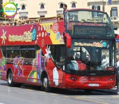 Sightseeing Bus North Malta Tour