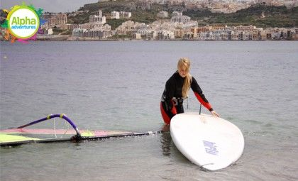 Windsurfing for families